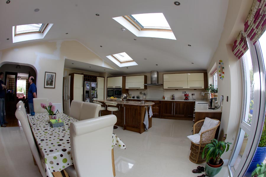Meadow bank hill Ratoath, Kitchen Extention