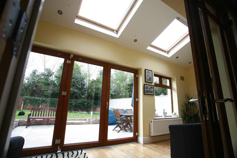 Foxbrook Ratoath, Phase1 2 storey extention Sunroom